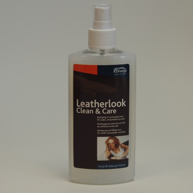 Leatherlook clean and care
