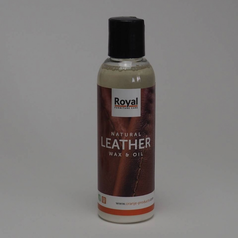 Natural leather wax & oil